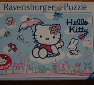 Ravensburger puzzle 500 tk. Hello Kitty